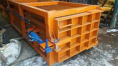 Пресс горизонтальный для ТБО - 40 тонн