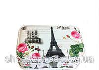 Красивая шкатулка - кейс Париж для хранения украшений 23х15х8 см, фото 1