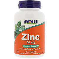 Zinc 50 mg NOW Foods 250 Tabs