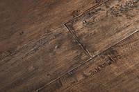Однополосная паркетная доска Гевея состаренная PITACHIO под лаком