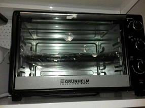 Духовка электрическая GRUNHELM GN 45 ARL с грилем и подсветкой, фото 3