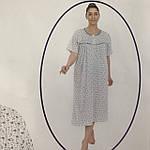 Ночнушки женские оптом. Турецкая ночнушка 50-56, фото 3