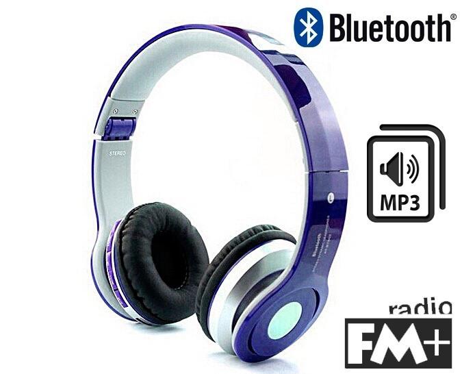 Беспроводные Bluetooth наушники Solo Beats S450 с MP3, AUX и FM реплика