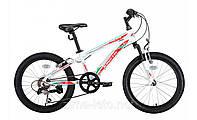 """Подростковый велосипед kinetic 20"""" Coyote 11"""" (белый)"""