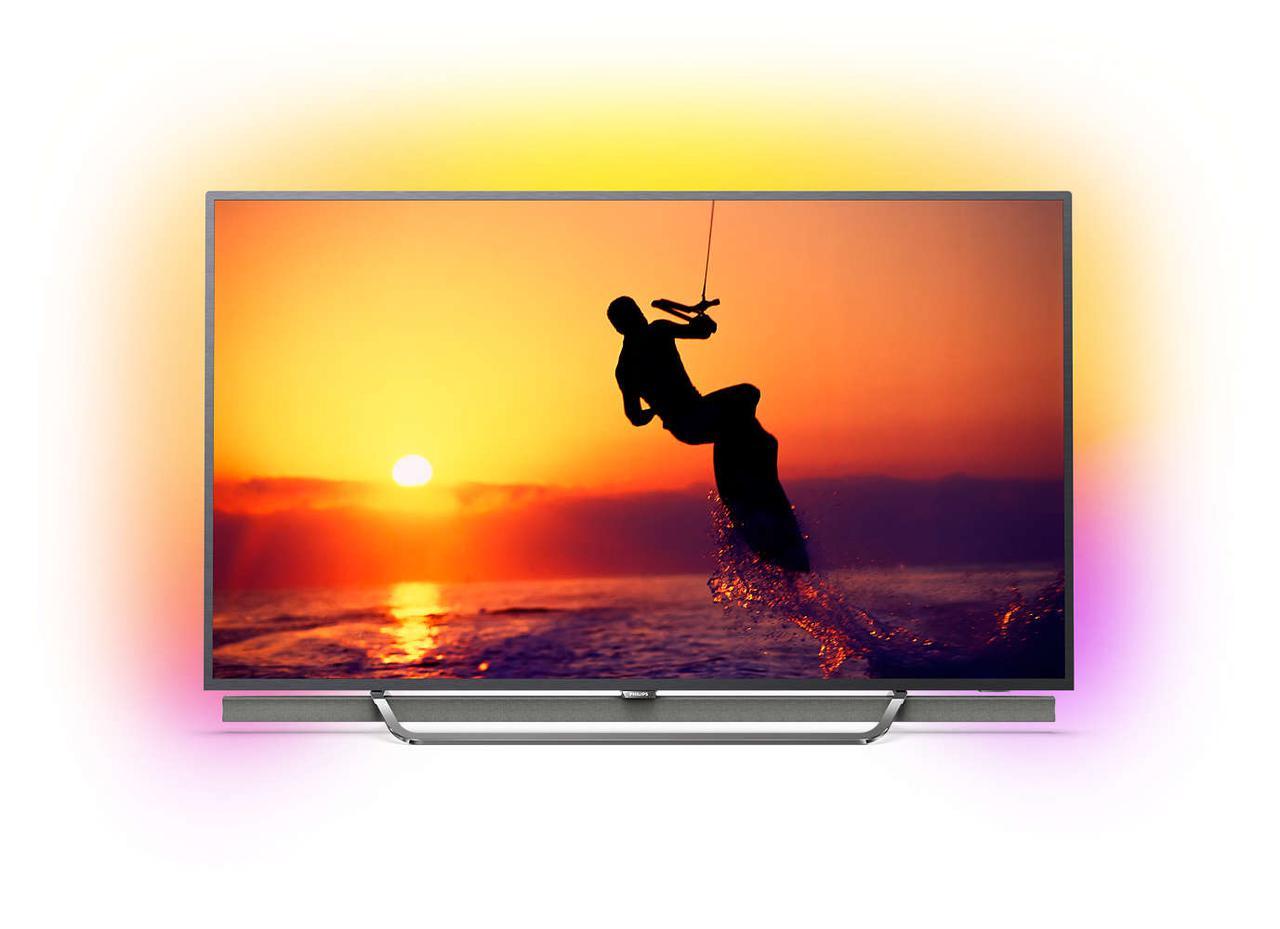 Телевизор Philips 55PUS8602/12 (PPI3200Гц, 4KUltraHD, Smart, QuadCore, P5 Perfect Picture, DVB-С/T2/S2, 50Вт)