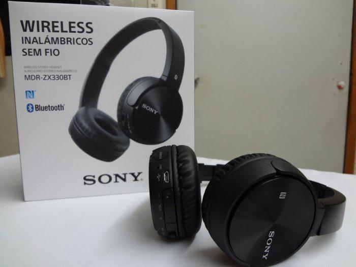 Наушники SONY MDR ZX 330 BT беспроводные, MP3, microphone реплика