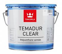 Temadur Clear, полиуретановый двухкомпонентный лак Темадур клиэ 4,5 л