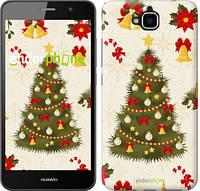 "Чехол на Huawei Y6 Pro Новогодняя елка ""4198c-355-450"""