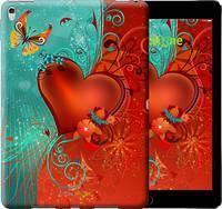 "Чехол на iPad Pro 9.7 Сердце в цветах ""220u-363-450"""