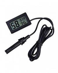 Цифровой термометр гигрометр для инкубатора WSD-12 с выносным датчиком