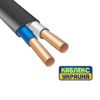 Кабель медный ВВГ П нгд 2х1,5 (Каблекс Одесса)