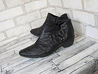 Rieker_кожа, Германия качественные комфортные женские ботинки 40р ст.26см H99