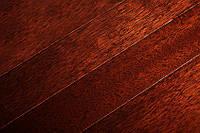 Массивная доска Мербау Dark под лаком 500-1300х120х18