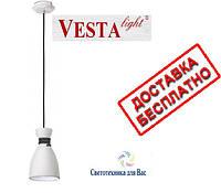 Подвесной светильник люстра Vesta Light  NAOMI (56021-1)  E27 белый чёрный, фото 1