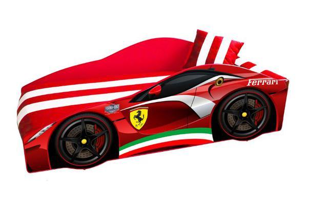 Кровать детская машина серии Elit Е-2 Ferrari red