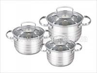 Посуды Набор Кухонной, 3 Предметов 2.0, 3.0, 4.0 Лтр.
