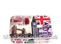 Элегантная шкатулка - кейс Лондон для хранения украшений 21х15х6 см , фото 1