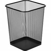 Офисная корзина для бумаги и мусора (квадратная м.)