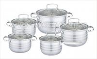 Посуды Набор Кухонной, 5 Предметов 2,1, 2.1, 2.9, 3.9, 6.6 Лтр.