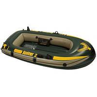 Надувная лодка SeaHawk 2 Intex 68346. На 2 человек