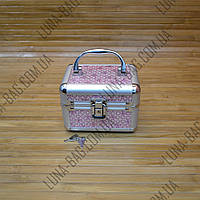 Стильный сундук для бижутерии 9 Цветов Clever Розовый