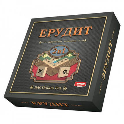 Настольная игра Эрудит 2в1, фото 2