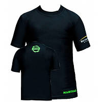 Спортивная, компрессионная футболка для детей Berserk Sport черный