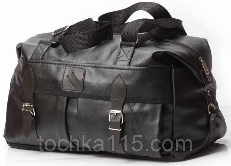 b1076d26e9c9 Мужская дорожная сумка, вместительная и прочная сумка, дорожный саквоеж,  чемодан, кожаная сумка