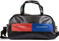 Дорожная сумка Tommy Hilfiger кожаная сумка, сумка мужская, сумка женская, спортивная сумка  реплика, фото 1