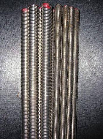 Шпилька резьбовая М12 DIN 975 класс прочности 8.8, фото 2