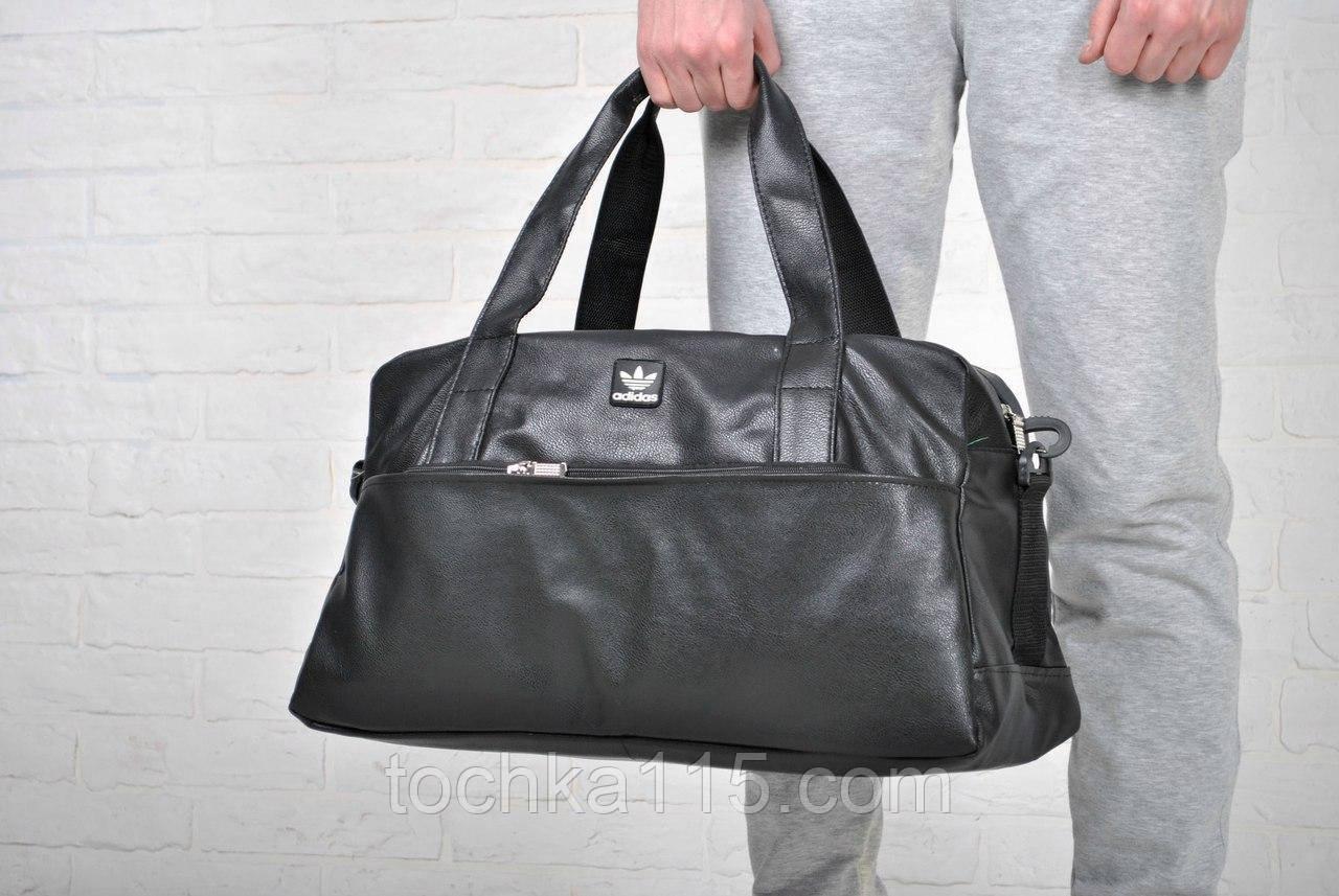 Дорожная сумка, кожаная сумка Adidas, сумка мужская, сумка женская, спортивная  сумка реплика c19187d7f50