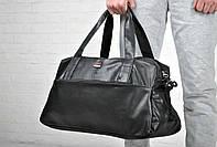 Дорожная сумка, кожаная сумка Reebok, сумка мужская, сумка женская, спортивная сумка  реплика, фото 1