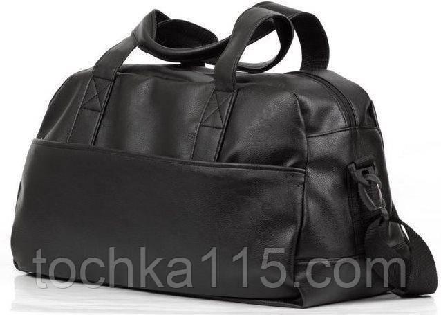 11434d8c4e01 Дорожная сумка, черная кожаная сумка, сумка мужская, сумка женская, спортивная  сумка -