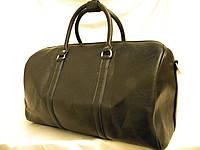 Кожаная мужская сумка, дорожная мужская сумка, городская сумка, саквояж  , фото 1
