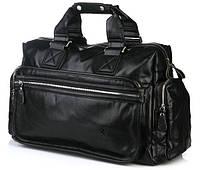 Мужская дорожная сумка Bradford, кожаная мужская сумка, сумка для командировок, фото 1