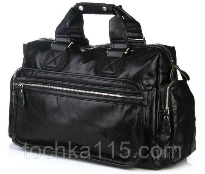 47b9ab3e51cb Мужская дорожная сумка Bradford, кожаная мужская сумка, сумка для  командировок - Точка 115 в