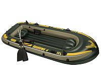 Надувная лодка Intex 68349 Seahawk 3 мест до 300 кг, 295-137-43 см