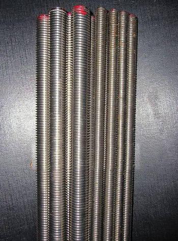 Шпилька резьбовая М14 DIN 975 класс прочности 8.8, фото 2