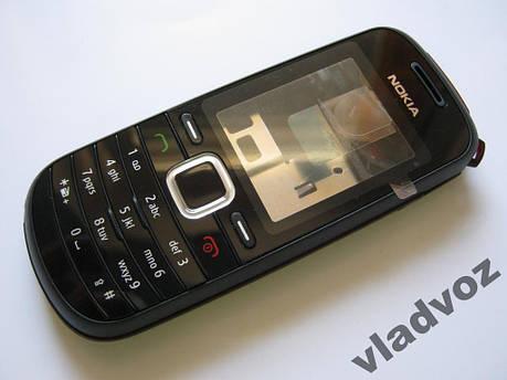 Корпус для Nokia 1661 чёрный AAA, фото 2