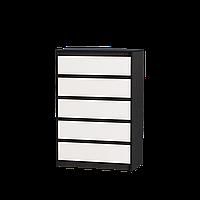 Комод для спальни Микс-1 ролики Эверест венге + белый (70х38х102 см)