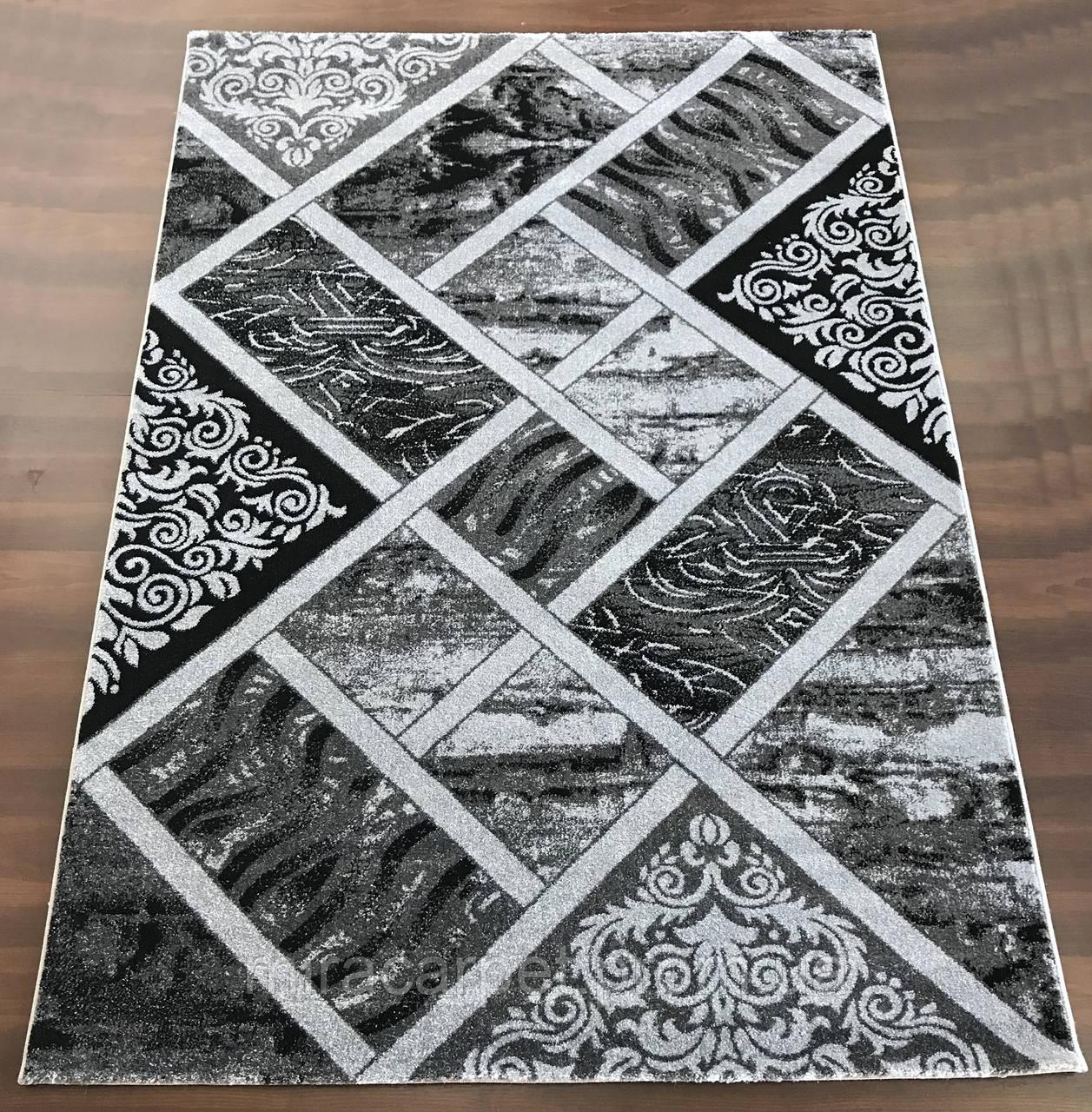 Синтетический резной ковер