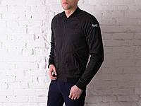 Куртка мужская весенняя, летняя, бомбер Black