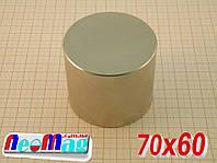 Мощный неодимовый магнит 70*60,√350кг, √N42, √ПОЛЬША, √ПОДБОР, √Все размеры! √СКИДКИ!