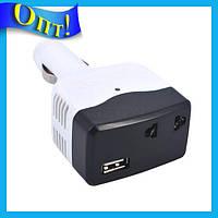 Переходник от прикуривателя на USB с выходом на 220V JBL-9026!Опт
