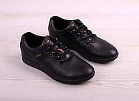 Кожаные мужские туфли на шнурке (спорт), фото 1