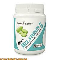 Melatonin 5 mg - гормон для омоложения и сна (120 капсул, мелатонин 5мг)