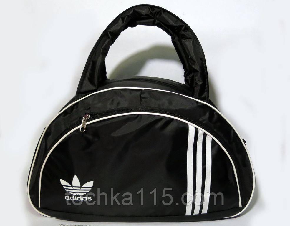 cc66fa478529 Спортивная женска сумка Adidas, женская фитнес сумка черный реплика - Точка  115 в Николаевской области