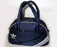 Спортивная женска сумка Adidas, фитнес сумка темно-синий  реплика, фото 1
