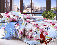 Комплект постельного белья XHY1801 двуспальный (TAG polycotton 2-sp-452)