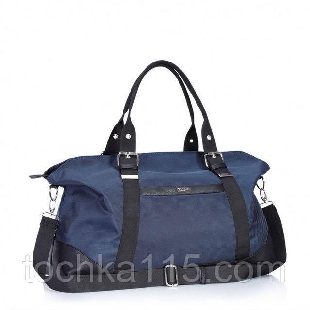 Женская дорожная сумка Dolly для ручной клади, сумка женская, вместительная сумка для поездок,  Синий